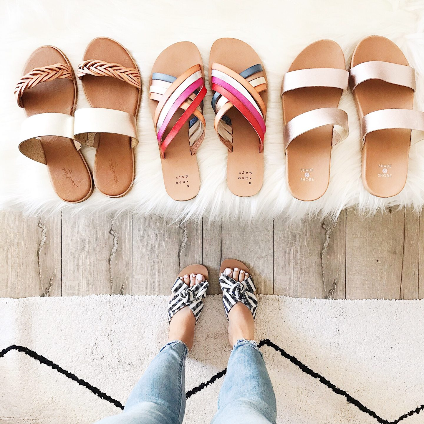 0de0a78a1765 There are so many amazing sandals at Target right now AND they are  currently all on sale for BOGO 50% off! With that being said